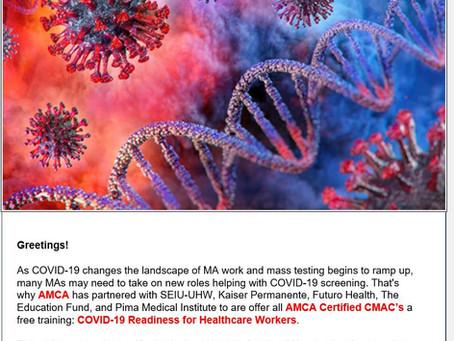 AMC Clinical Medical Assistant