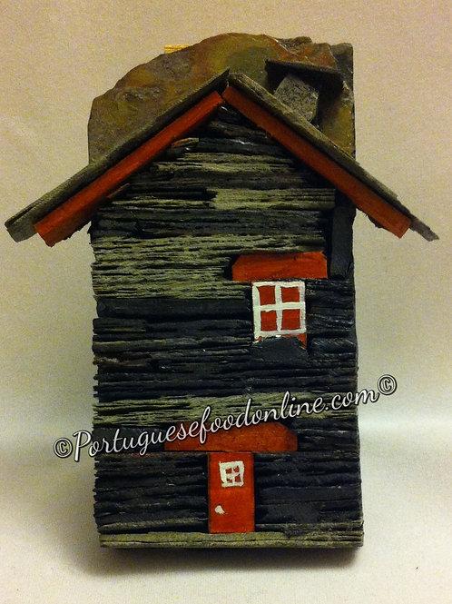 Portuguese Schist Stone House - Magnet