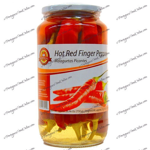Hot Red Finger Peppers