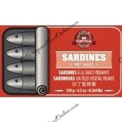 Sardines in Vegetable Oil Spiced