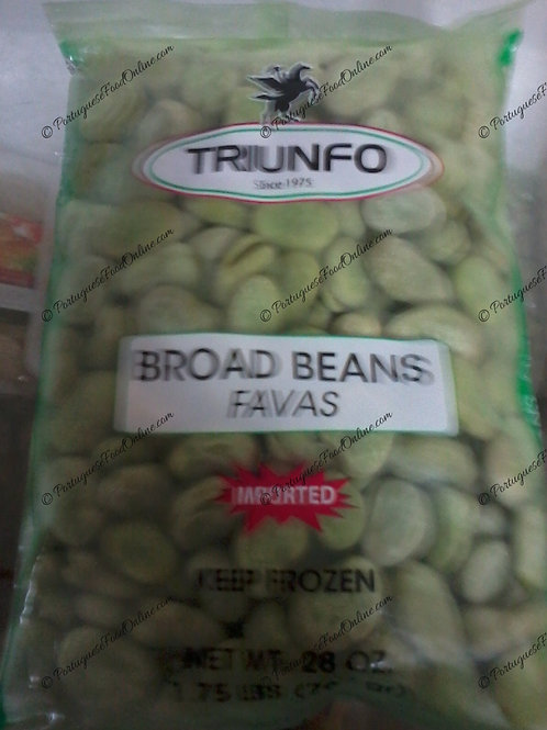Frozen Green Fava Beans