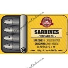 Sardines in Vegetable Oil