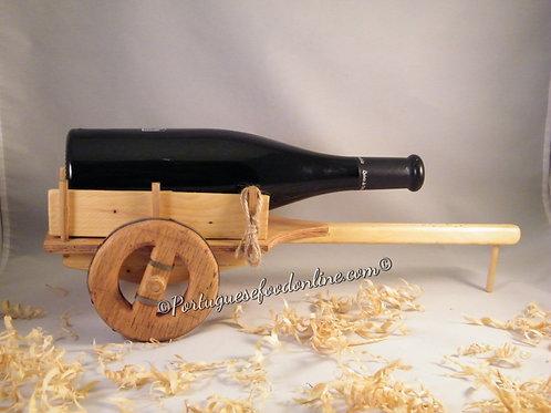 Portuguese Wood Bottle Holder