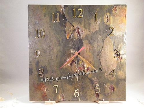Portuguese Wood Wall Clock