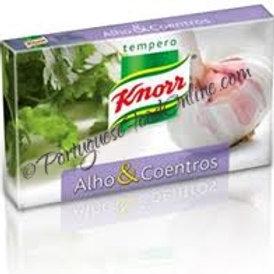 Knorr Cubos Seasoning Alho e Coentros
