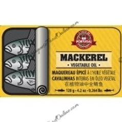 Portuguese Mackerel in Vegetable Oil