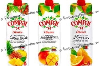 Compal Fruit Nectars Tetra Pack 1 Litter