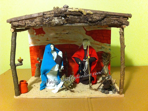 Electric Nativity Set