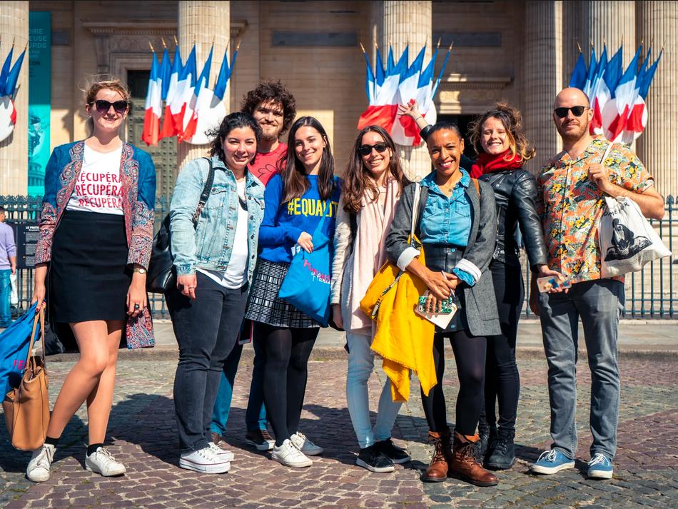 Feminists in Paris