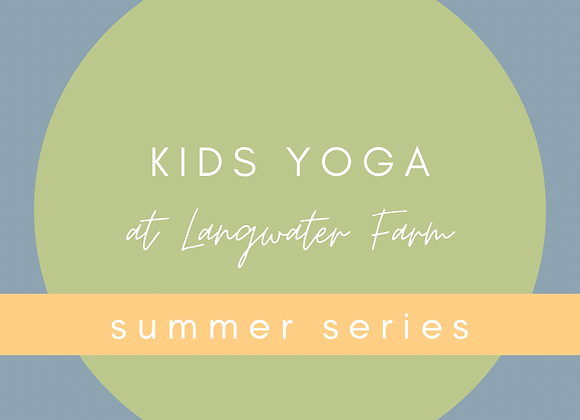 9/12 10:00am Kids Yoga