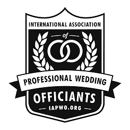 We are a member of the professional wedding officiants association