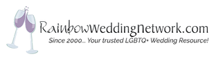 we are a member of the rainbow wedding network