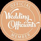 we belong to wedding officiants association