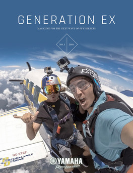 Yamaha Generation X mag cover