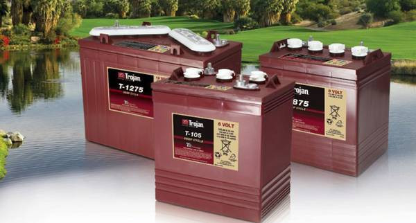 RV batteries