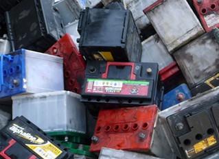 Recycle used scrap batteries