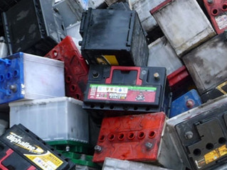 Recycle used scrap batteries