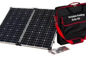 Armada 150 watt folding solar kit