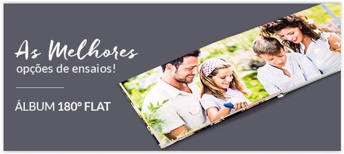 Fotolivro - 390g/m2 - Abertura Panorâmica (Fotolivro 180 Slim)
