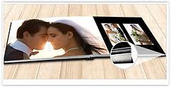 Fotolivro - 600g/m2 - Abertura Panorâmica e Capa Almofadada (Fotolivro 180 Flat)