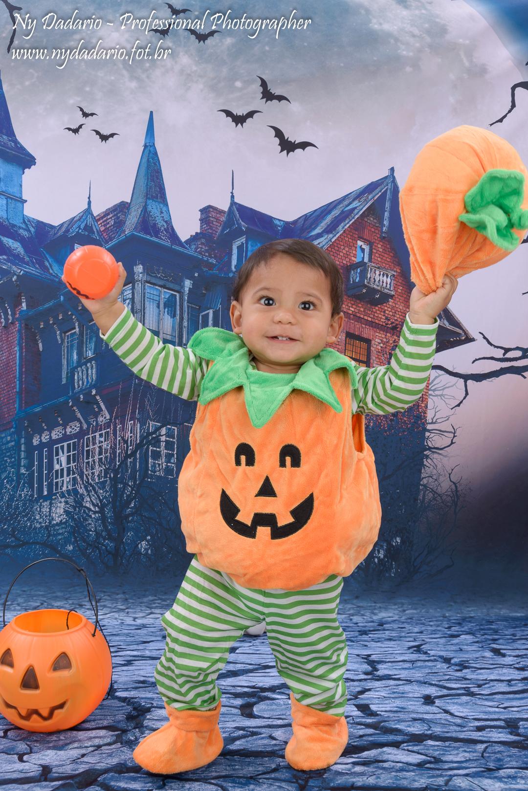 Ensaio Fotográfico de Halloween - Dia das Bruxas - em estúdio fotográfico localizado no tatuapé, zon
