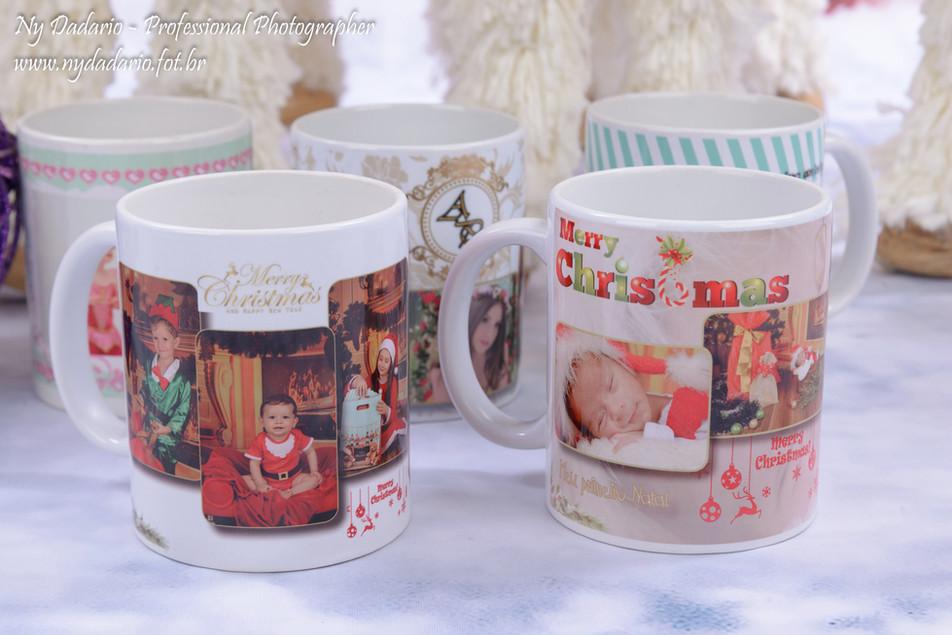 Brindes com fotos, canecas, imãs de geladeira, Bolas peronalizadas para arvore de natal
