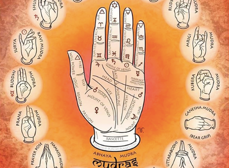 The Power of Mudras and my Logo