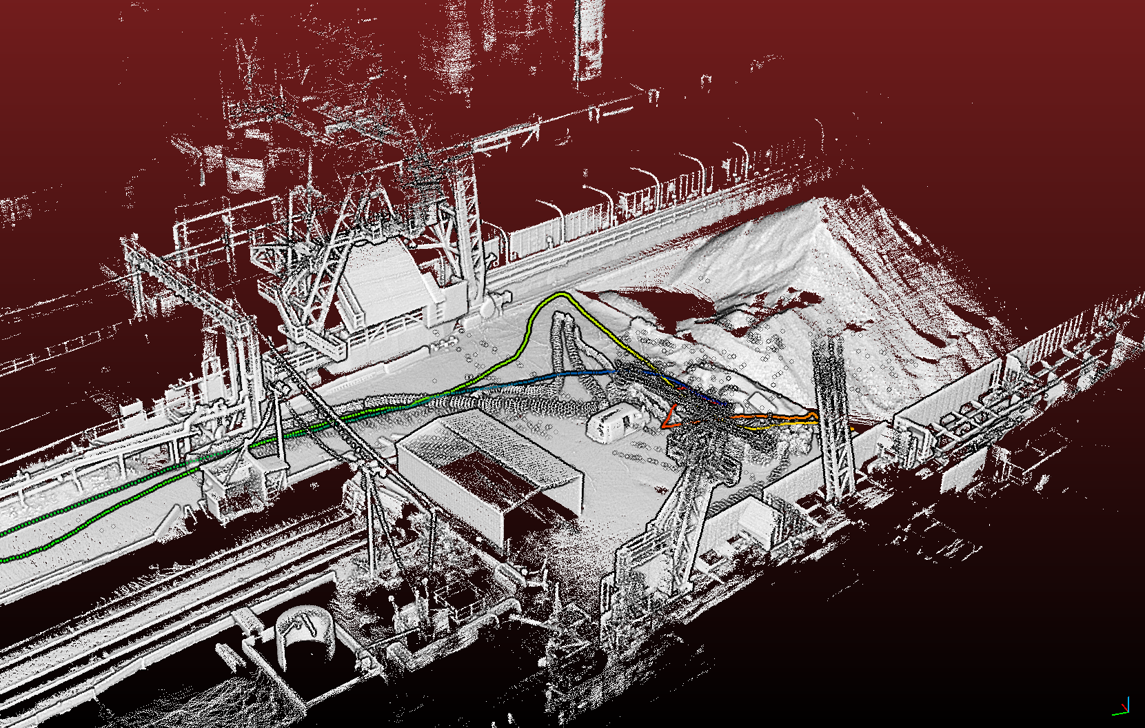 Point Cloud of Complex Environment