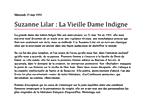 Mercredi 15 mai 1991 (577) Suzanne Lilar : La Vieille Dame Indigne 