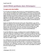 Lundi 19 août (644) André Dhôtel, posthume, dans «Océaniques»
