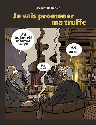JACQUES DE DECKER Je vais promener ma truffe Éditions Marot illustration Vadot