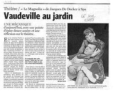 Le Magnolia Jacques De Decker