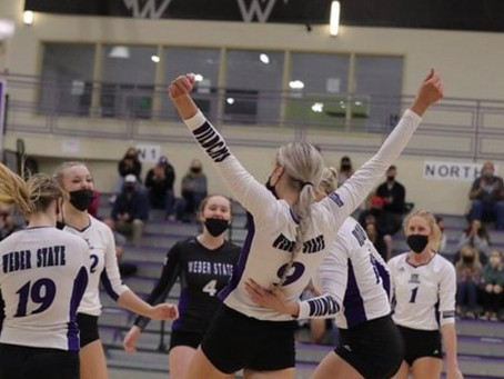 VOLLEYBALL: Wildcats Take Commanding Lead In Big Sky After Sweeping Conference Champs