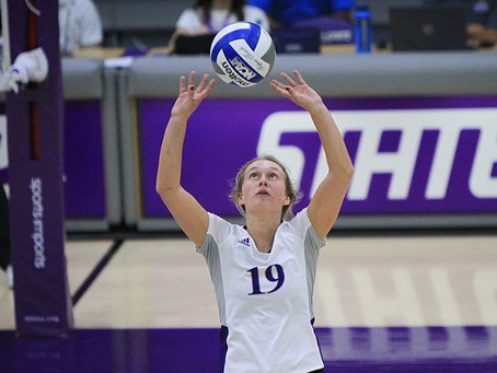 VOLLEYBALL: Wildcats Sweep EWU, Advance to Big Sky Semifinals