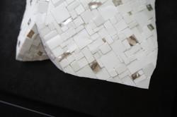 Shiro Piegare 8127 (6) White Black Silve