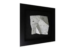 Shiro Piegare 7181 (3) White Black Silve