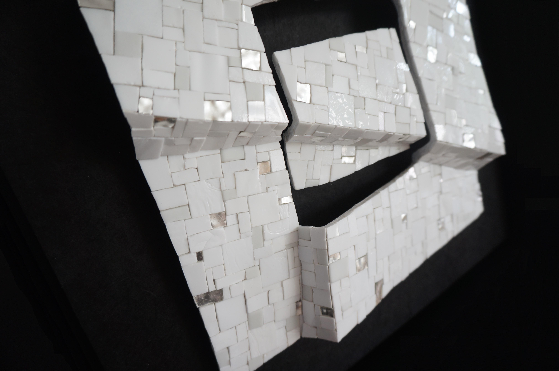 Shiro Piegare 8128 (4) White Black Silve