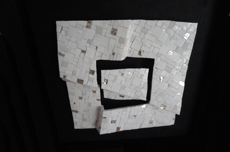 Shiro Piegare 8128 (3) White Black Silve