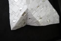 Shiro Piegare 8127 (3) White Black Silve