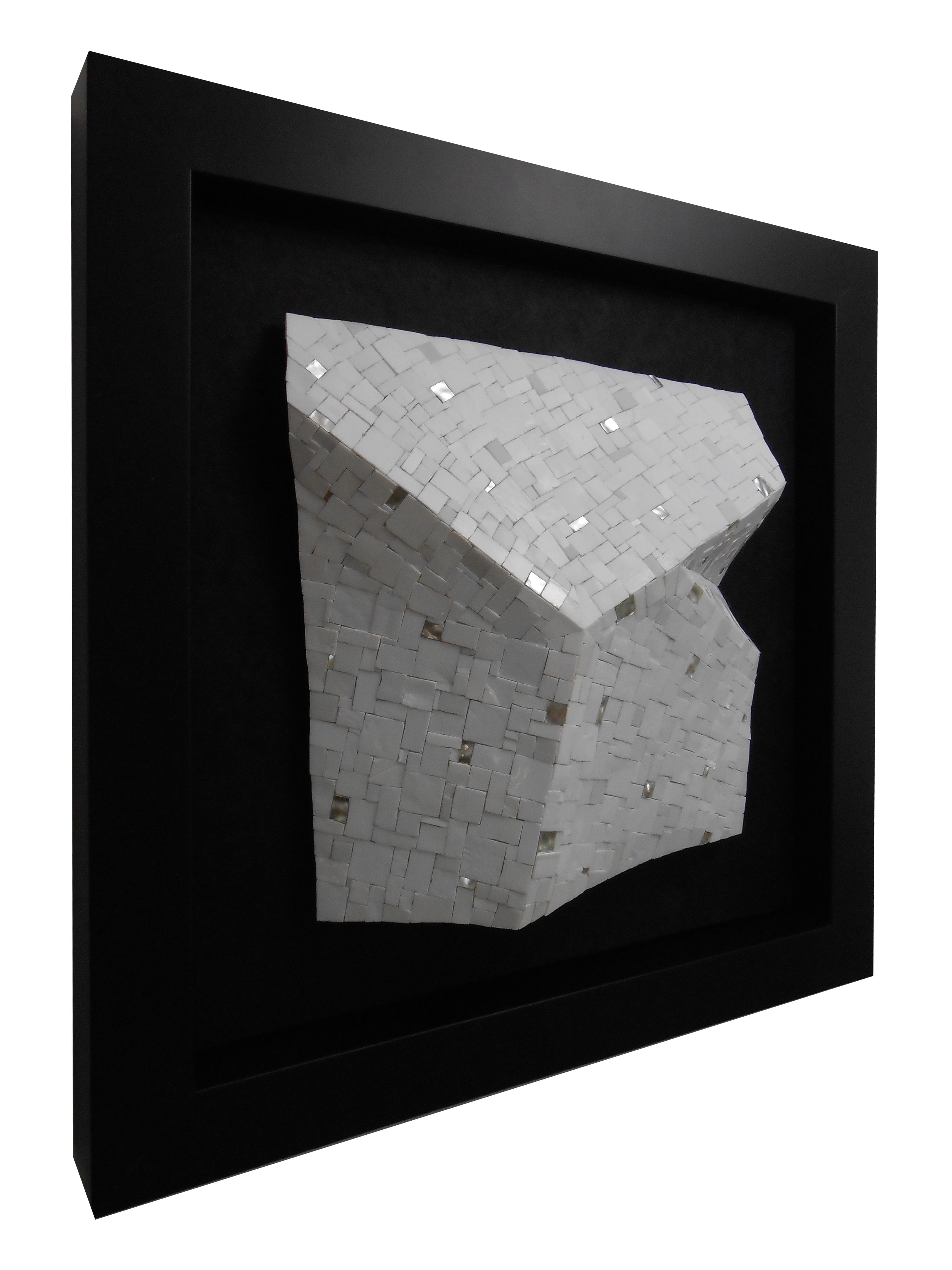 Shiro Piegare 8130 (3) White Black Silve