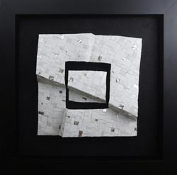 Shiro Piegare 8128 (1) White Black Silve
