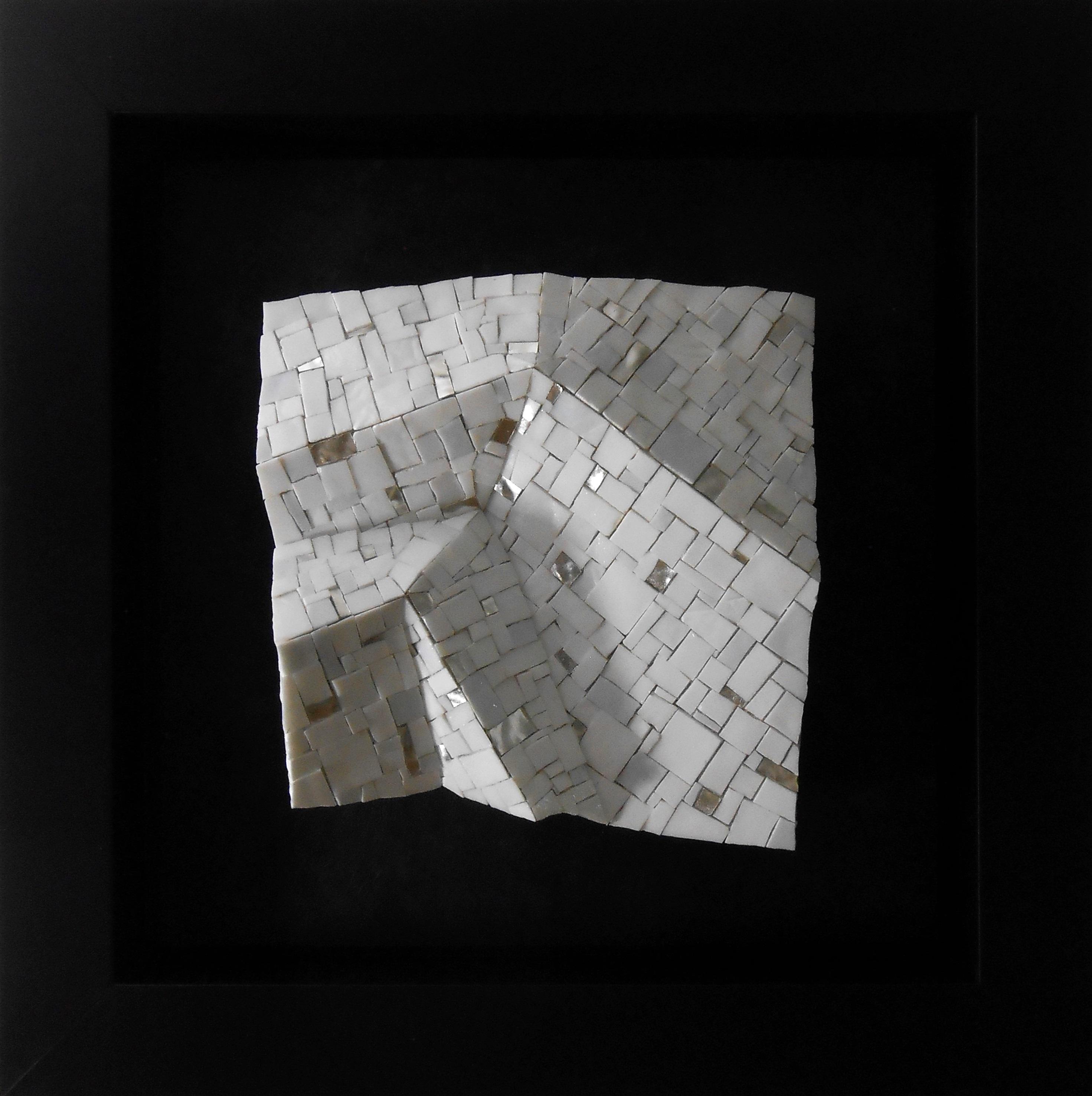 Shiro Piegare 7181 (2) White Black Silve