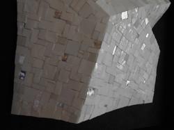 Shiro Piegare 8130 (5) White Black Silve