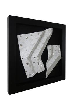 Shiro Piegare 8129 (2) White Black Silve