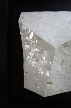 Shiro Piegare 8130 (4) White Black Silve
