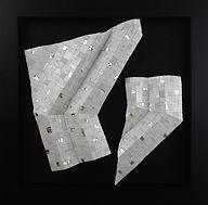 Shiro Piegare 8129 (1) White Black Silve