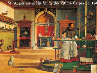 Who was St. Augustine ?