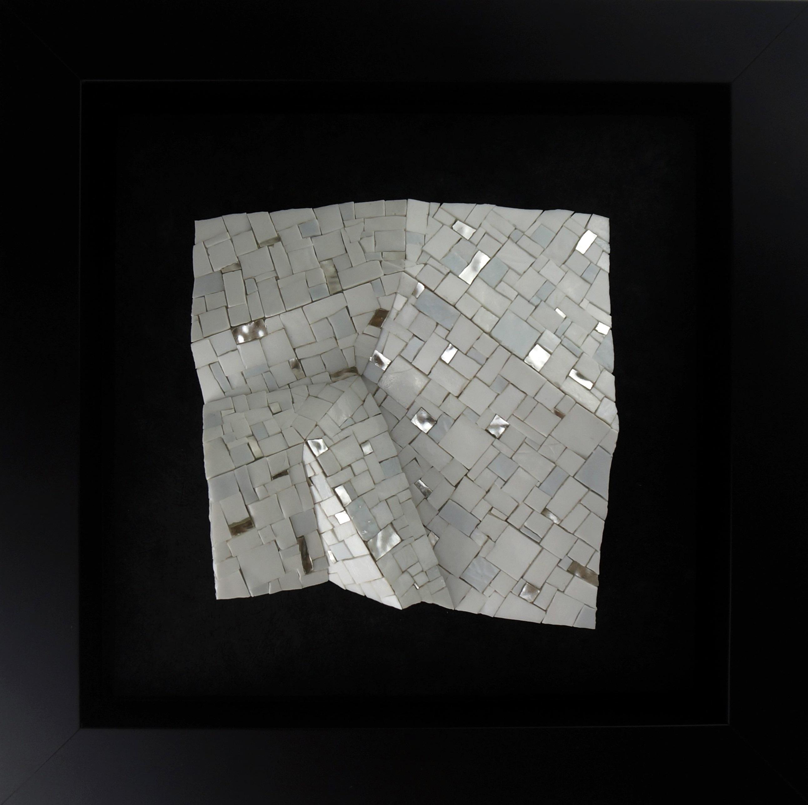 Shiro Piegare 7181 (1) White Black Silve