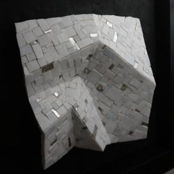 Shiro Piegare 7181 (5) White Black Silve