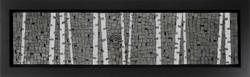 Birch Trees at Night M312 (1)